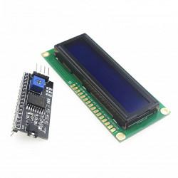 LCD displej 1602 + řadič...