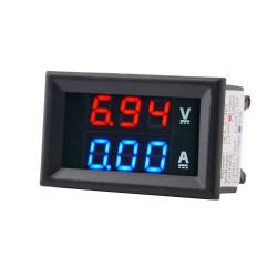 Voltmetr + Ampérmetr 100V /...