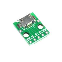 Redukce Mikro USB na DIP